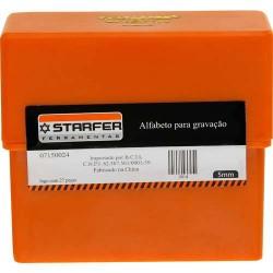 ABCDARIO DE AÇO 4MM - STARFER