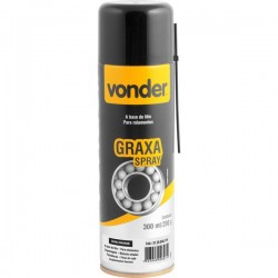 GRAXA SPRAY A BASE DE LÍTIO MARROM 200G - VONDER