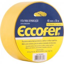 FITA ADESIVA DE DEMARCAÇÃO 48MMx30MM - ECCOFER