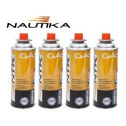 GAS PARA CAMPING - NAUTIKA - 227GR - CARTUCHO