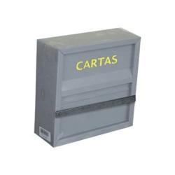 CAIXA CORREIO FERRO GRADE 24X24X09 AÇO