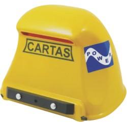 CAIXA CORREIO PLASTICA  POWER AMARELA JLK